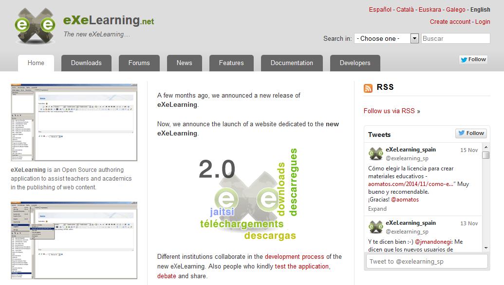 Course Image Exelearning y otras herramientas